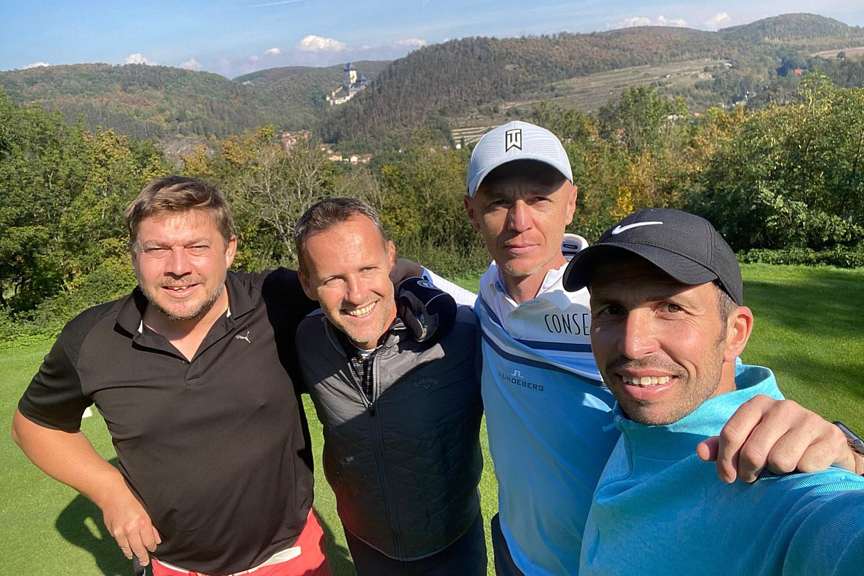 Turnaj tenistů na Golf Resortu Karlštejn
