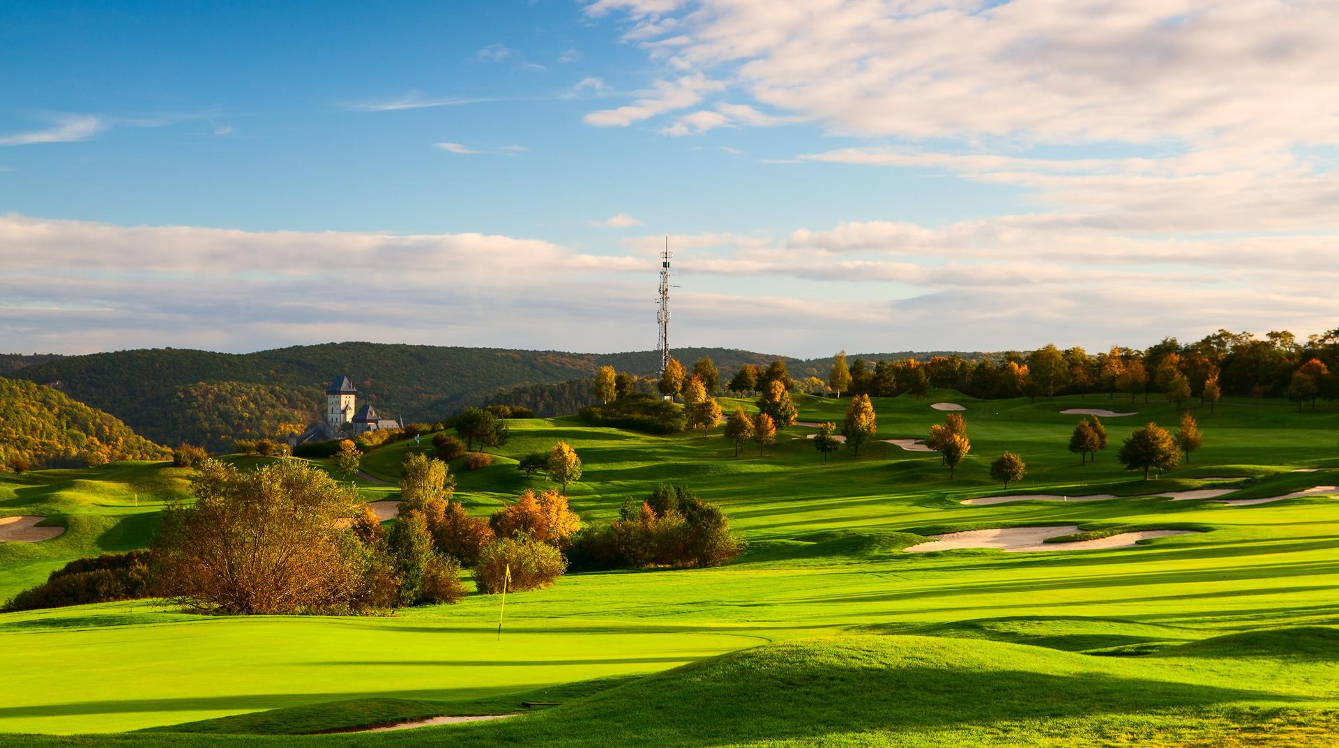 Nové video Golf Resort Karlštějn