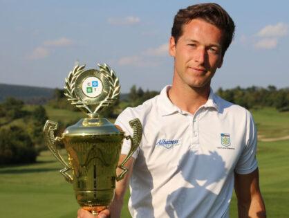 Na Karlštejně vyhrál Bareš, ve finále zazářil kolem za 63 (-9)